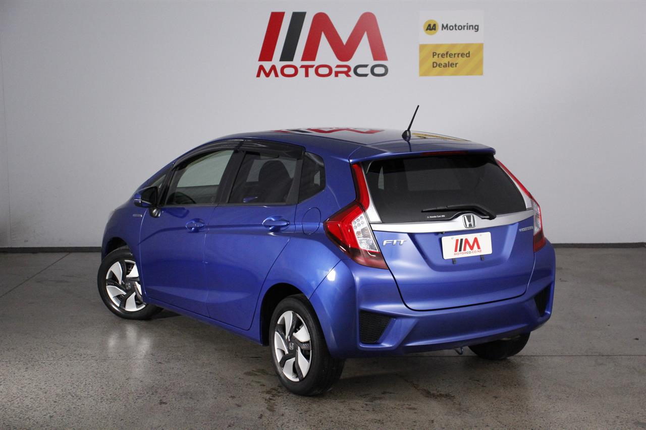 Honda Fit Hybrid stock #34354