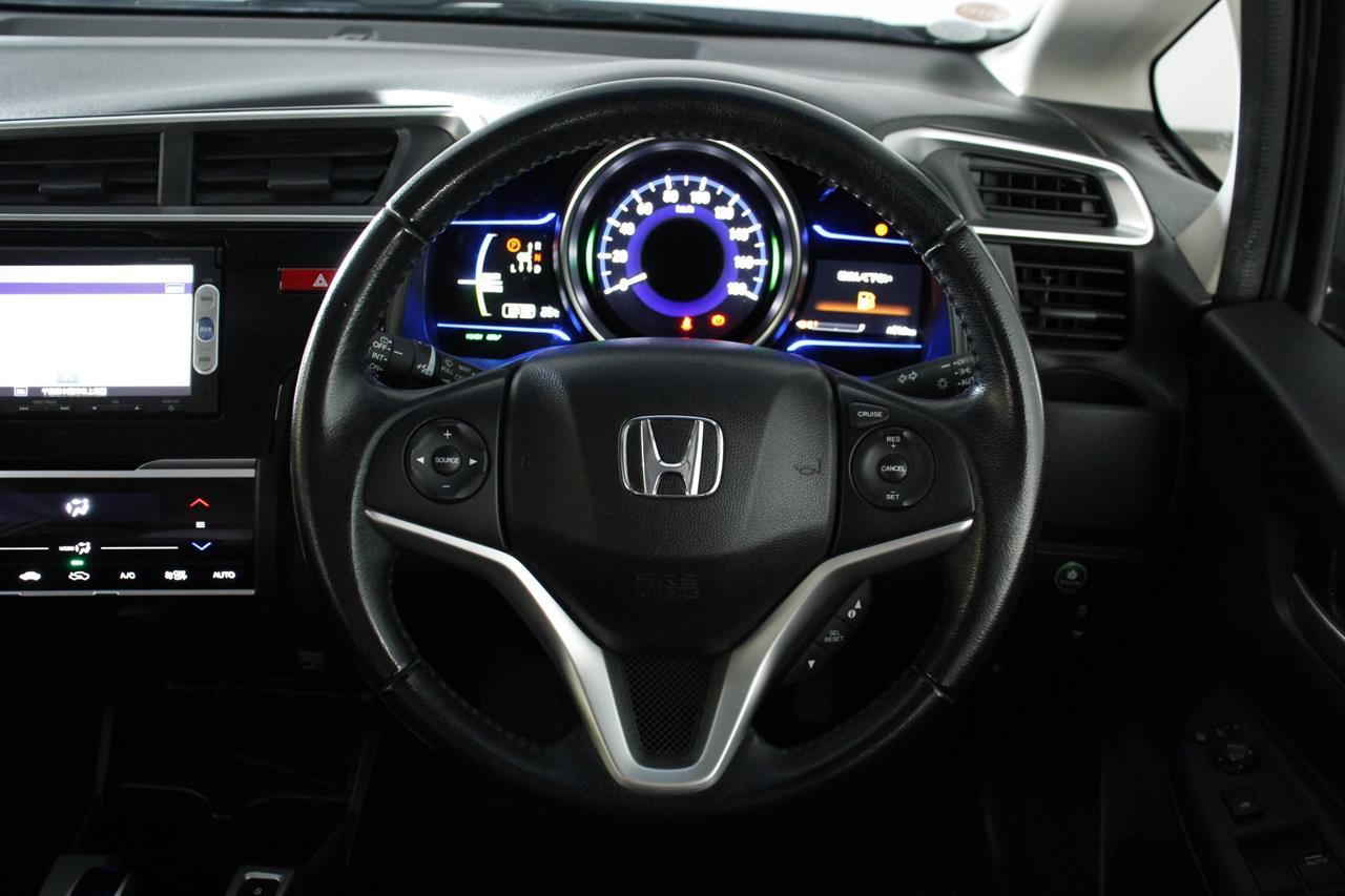Honda Fit Hybrid stock #34655