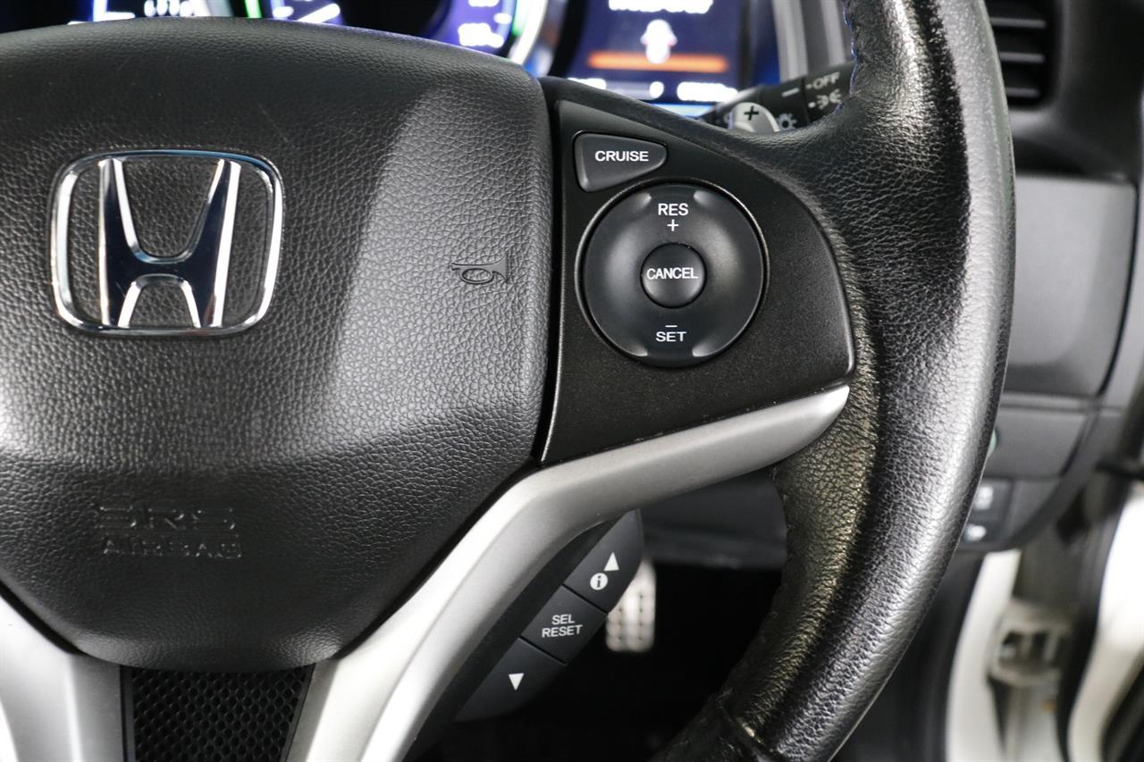 Honda Fit Hybrid stock #34270