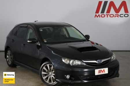 Image of a Black used Subaru Impreza stock #32821 2010 stock number 32821