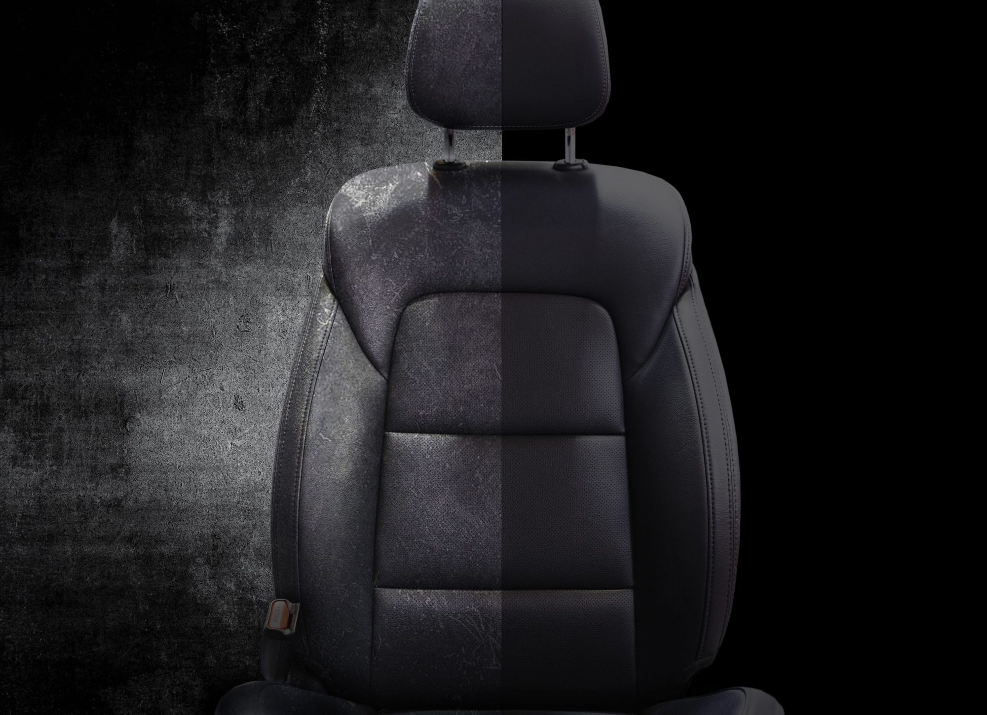 The car fabric chair is a MotorCo accessory