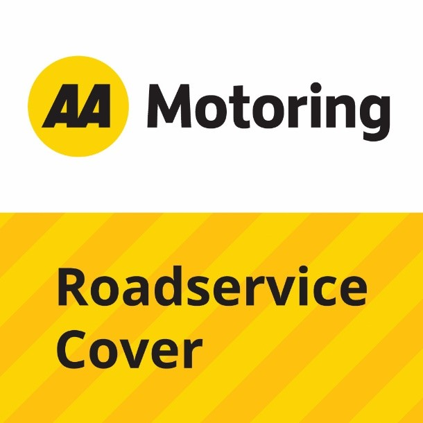 the AA Motoring Roadservice Cover logo
