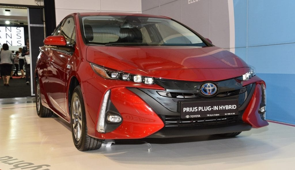 Toyota Prius Plug-in Hybrid presented at Sofia Motor Sho